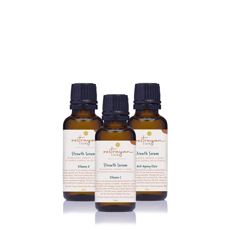 product images of Ozsentials Serum Pack